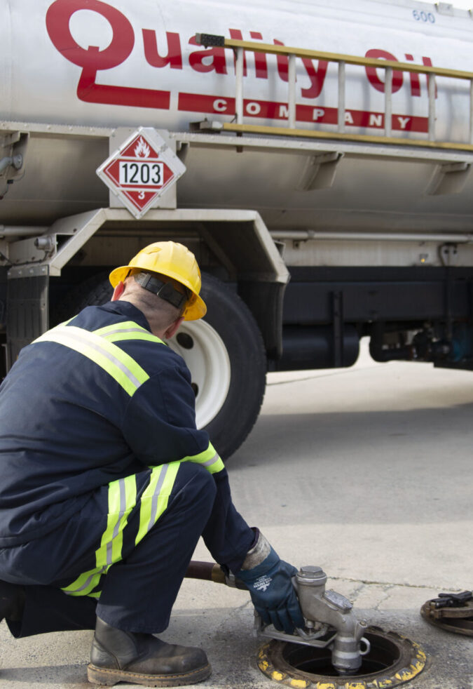 Drop Fuel Oil Driver